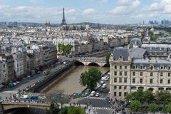 View of Paris Stock Photo