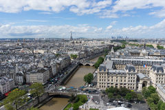 View of Paris Stock Image