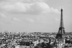 View on Paris France Stock Photography
