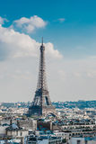 View on Paris France Royalty Free Stock Photos