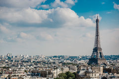View on Paris France Royalty Free Stock Photography