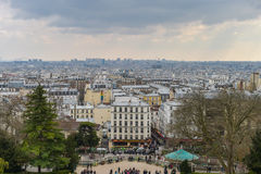 A view of Paris in France Royalty Free Stock Images