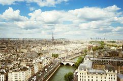 View on  Paris, France Royalty Free Stock Photos