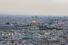 View of Paris, France Royalty Free Stock Photography
