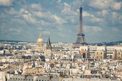 View on Paris Royalty Free Stock Images