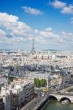 View on Paris Royalty Free Stock Image