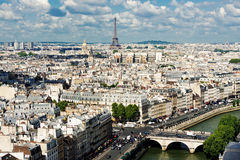 View on Paris Royalty Free Stock Photography