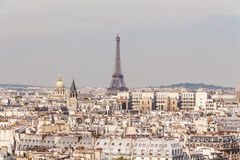View of Paris from the Notre Dame Cathedral, France Stock Photography