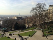 View of Paris. View from the Sacré Coeur Church, Paris, France Stock Photography