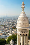 View of Paris from the Sacre Coeur Royalty Free Stock Image