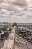 View of Paris from the Sacre Coeur. Panoramic view of Paris from the Sacre Coeur Stock Images