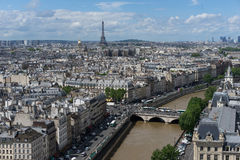 View of Paris Royalty Free Stock Photos