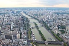 View on Paris and Sena Royalty Free Stock Photo