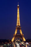 View of the Paris and Tower Eiffel Stock Photo