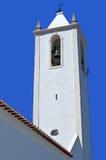 A view of the parish church in Salir Stock Photo