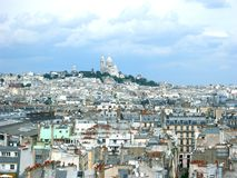 View of Parisian Rooftops Royalty Free Stock Image