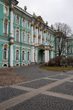 View of Park in front of the Winter Palace. Spring. Saint-Petersburg. Russia. Stock Photography
