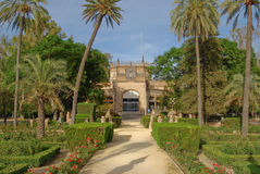 View of park Maria - Luisa in Andalusia Royalty Free Stock Image