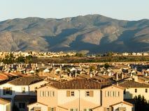 Houses and the mountain, Chula Vista, California, USA
