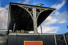 View from part of an old steam locomotive Royalty Free Stock Photos