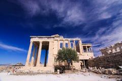 View on Parthenon, Acropolis. Athene, Greece - 20.04.2016. Royalty Free Stock Photography