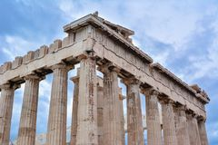 View of Parthenon, Athens royalty free stock photography