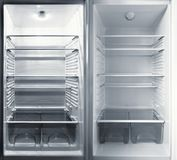 Parts of the refrigerator. Royalty Free Stock Photos