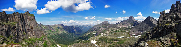The view from the pass cadets Royalty Free Stock Photography