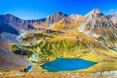 View from the  pass at the lake Royalty Free Stock Image