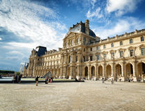 The view of the Passage Richelieu in Louvre, Paris, France. Stock Photography
