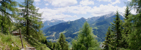 View into Passeiertal in South Tyrol, Italy Stock Photos