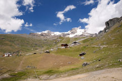 View on Passo Salati Stock Photography