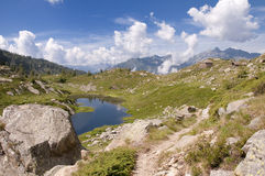 View on Passo Salati Royalty Free Stock Photography