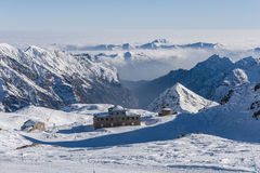 View from Passo Salati Stock Image