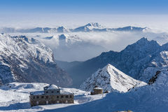 View from Passo Salati Royalty Free Stock Images