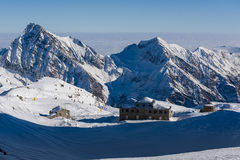View from Passo Salati Stock Images