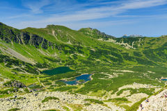 View from path in Tatra Mountains. Stock Photos