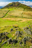 View of the path to the Arthur Seat Royalty Free Stock Image