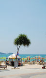 View of Patong beach in Phuket, Thailand Stock Photography