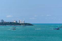 View of pattaya city. The view of pattaya city Royalty Free Stock Photography