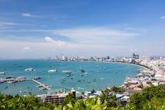 View of Pattaya city Royalty Free Stock Image
