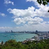 View from Pattaya City Thailand stock image