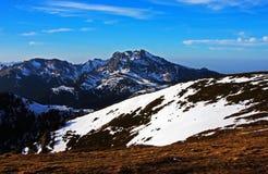 View of a peak in Ciucas mountains, Romania Stock Photo