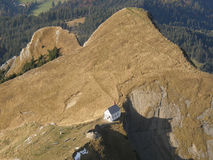 View from a peak of Mount Pilatus Royalty Free Stock Photos