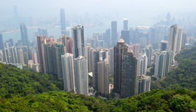 View from the Peak Stock Images