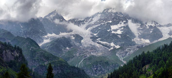 View of the peaks Stock Images