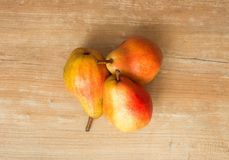View of the Pears / Fresh seasonal fruits Royalty Free Stock Photo