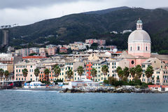View of Pegli - Genoa (Italy). View of Pegli - Genoa Italy Stock Photography