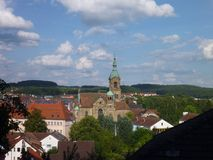 View of a pegnitz city in germany Stock Photo