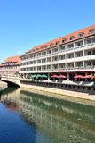 View on the Pegnitz river in Nuremberg, Germany Royalty Free Stock Image